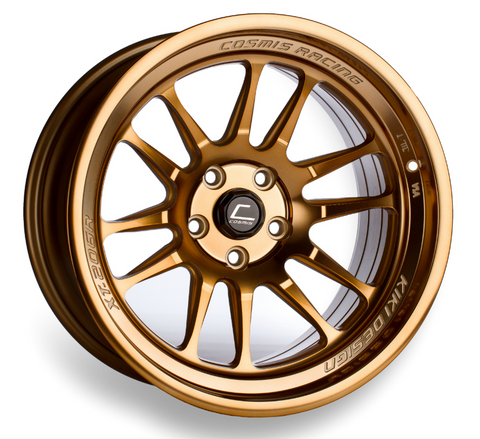 Cosmis Racing XT-206R Hyper Bronze Wheel 17x9 +5mm 5x114.3