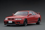 Ignition Model IG1841 Nissan Skyline GT-R (BCNR33) Matsuda Street Wine Red 1/18 Scale
