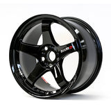 Nismo LMGT4 Omori Factory Spec Wheel - Gloss Black - 18x10.5 +15 5x114.3 set only