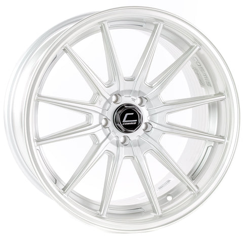 Cosmis Racing R1 Pro Silver Wheel 18x10.5 +32mm Offset 5x100