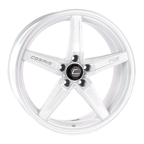 Cosmis Racing R5 White Wheel 18x8.5 +40mm Offset 5x108