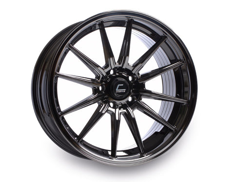 Cosmis Racing R1 Black Chrome Wheel 18x10.5 +30mm 5x114.3