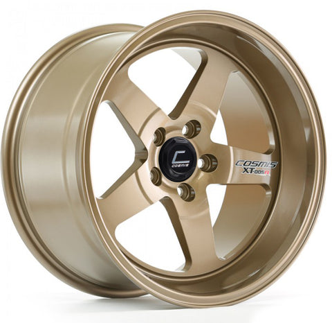 Cosmis Racing XT-005R Wheel Bronze 18x9 +25mm 5x114.3