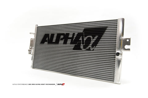 AMS Performance INFINITI Q60+Q50 Red Alpha Heat Exchanger