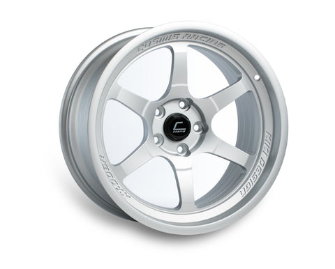 Cosmis Racing XT-006R Matte Silver Wheel 18x9.5 +10mm 5x114.3