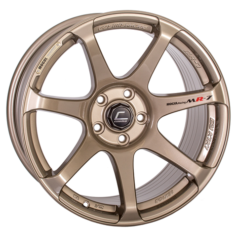 Cosmis Racing MR7 Bronze Wheel 18x10 5x114.3 +25mm Offset