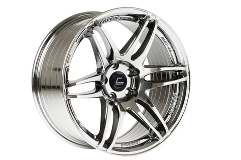 Cosmis Racing MRII Black Chrome Wheel 17x9 +10mm 5x114.3