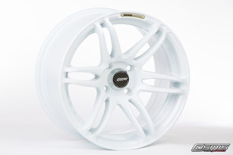 Cosmis Racing MRII White Wheel 15x8 +30mm 4x100