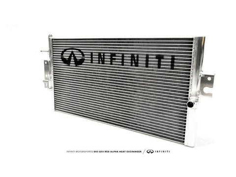 INFINITI-ALPHA Q50/Q60 Red Alpha Heat Exchanger