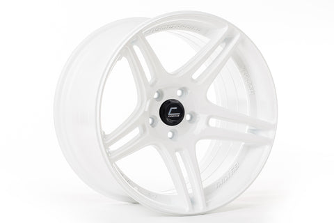 Cosmis Racing S5R Wheel White 17x10 +22mm 5x114.3