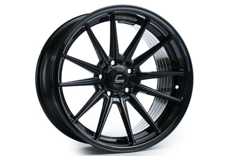Cosmis Racing R1 Black Wheel 18x9.5 +35mm 5x114.3