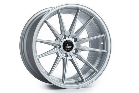 Cosmis Racing R1 Matte Silver Wheel 18x8.5 +35mm 5x120