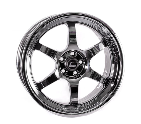 Cosmis Racing XT-006R Black Chrome Wheel 18x9 +35mm 5x100