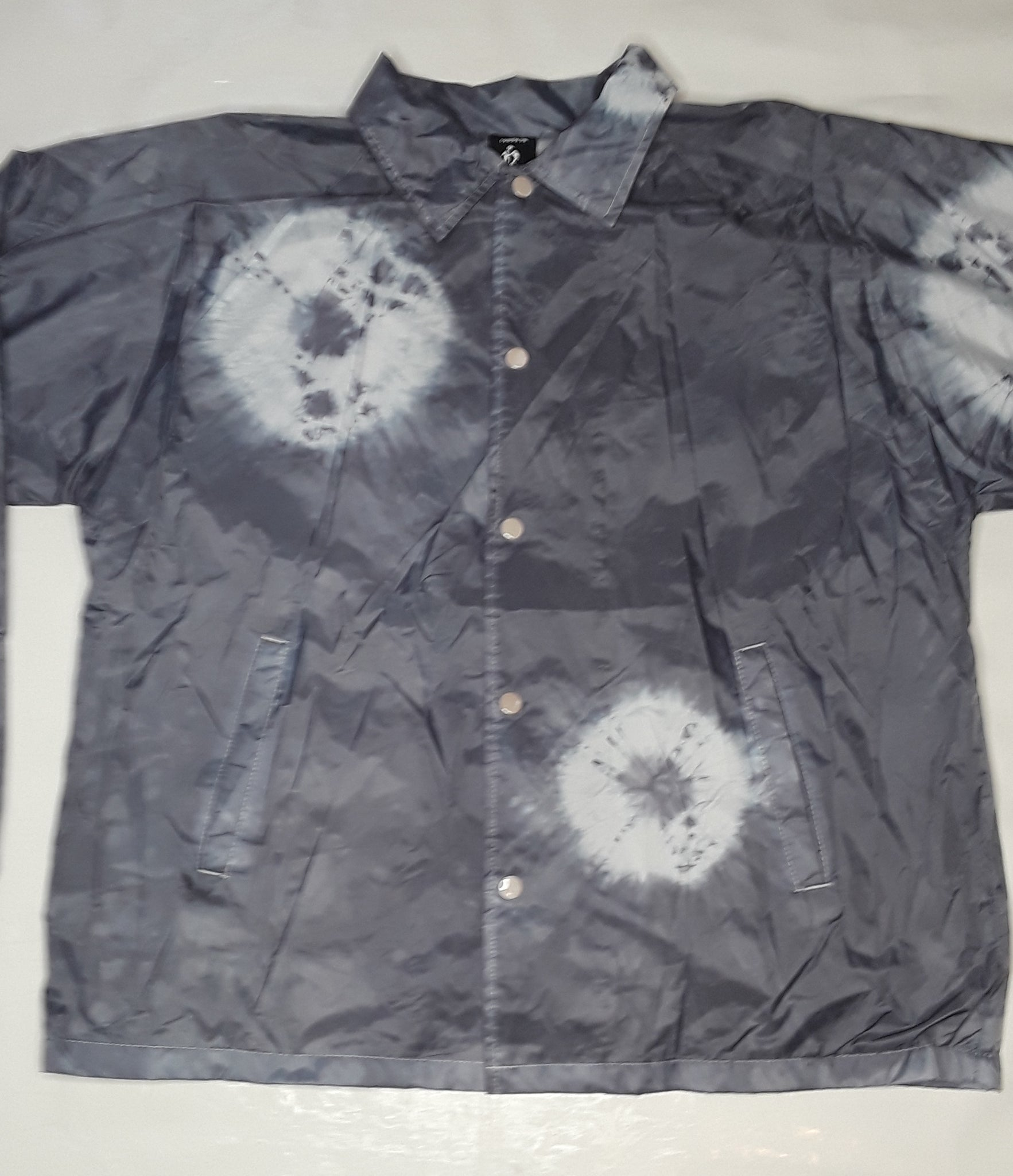 tye dye windbreaker jacket