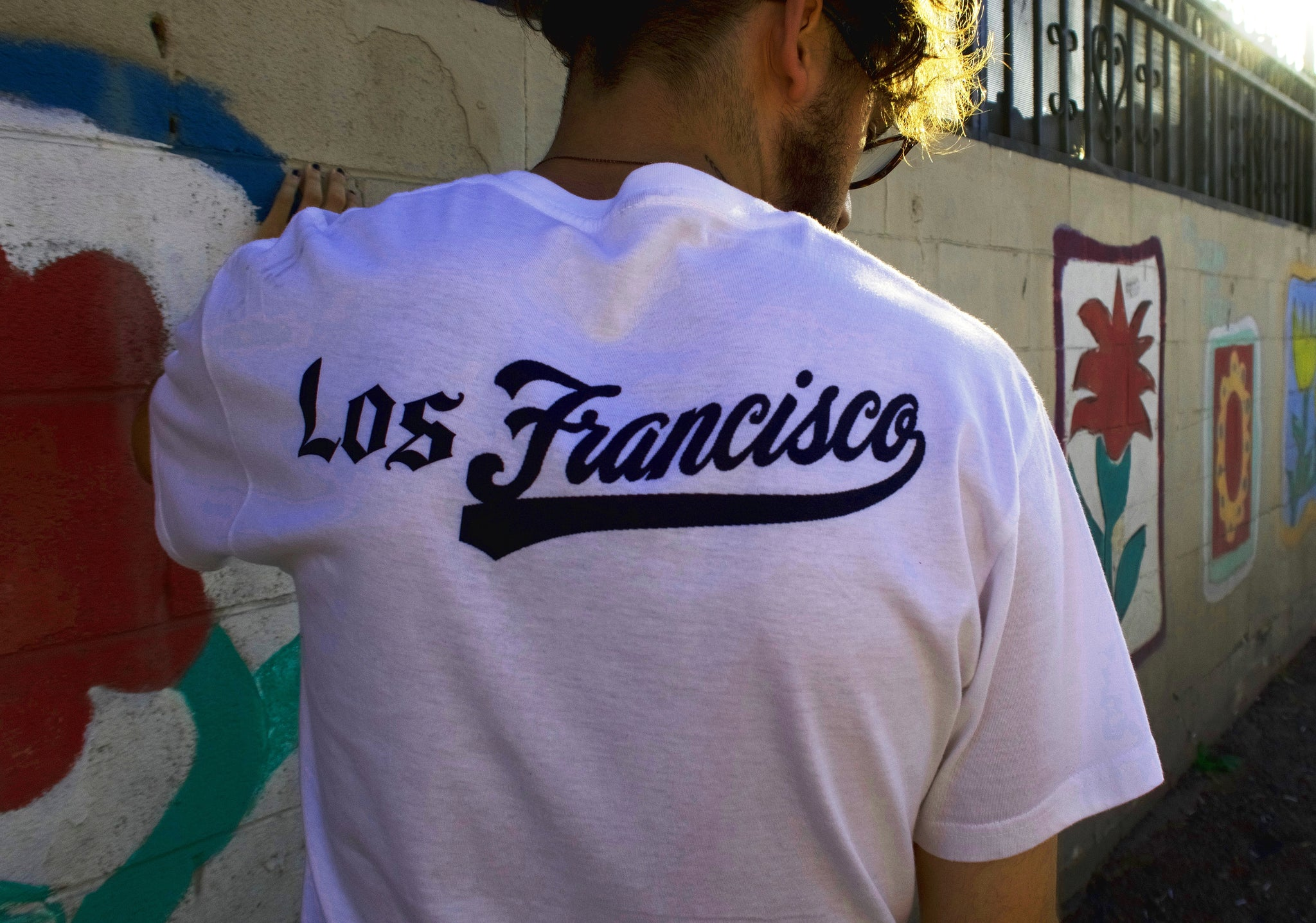 san angeles los francisco tshirt city mash up