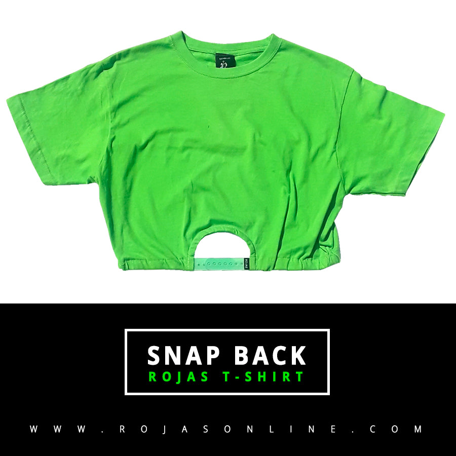 snap back t-shirt
