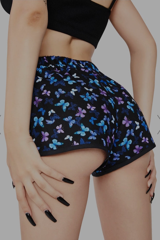 butterfly lounge shorts