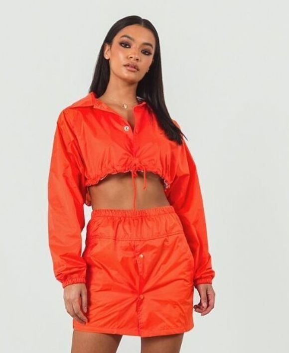 orange crop jacket
