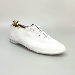 Cahetel White Angel (04)- Scarpa Jazz  Confort in Pelle Bianca