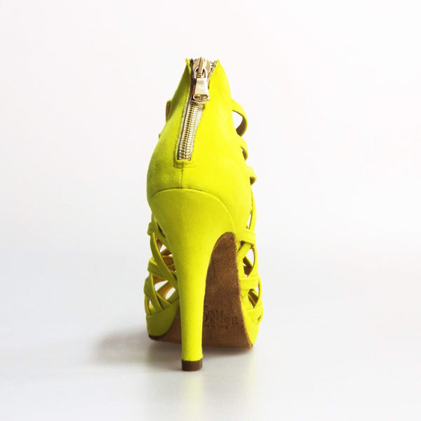 Wish Dance Shop Intrigo in Camoscio Giallo