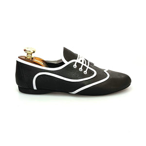Wish Dance Shop Jazz 07 Corsaro Pelle Nera Kro Bianco