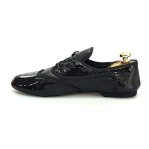 Wish Dance Shop Jazz 07 Pelle Nera Vernice Nera Kro Nero