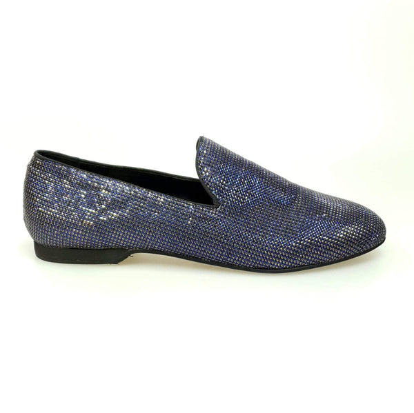 Wish Dance Shop Mocassino Glamour Blu