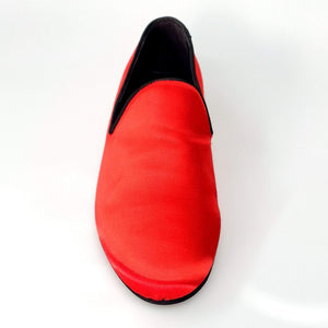 Wish Dance Shop Mocassino in Raso Rosso
