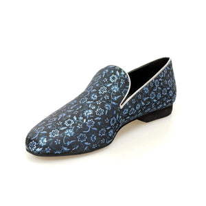 Wish Dance Shop Mocassino Uomo in Kate Blu