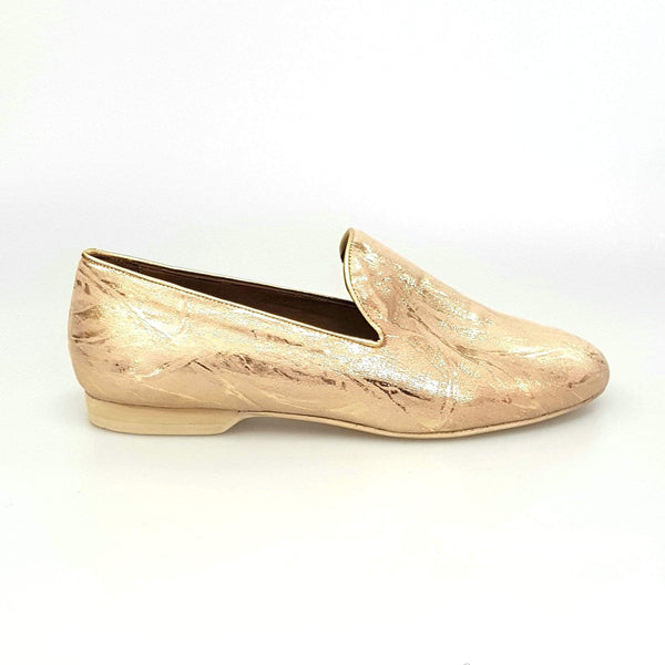 Wish Dance Shop Mocassino Uomo in Orly Oro