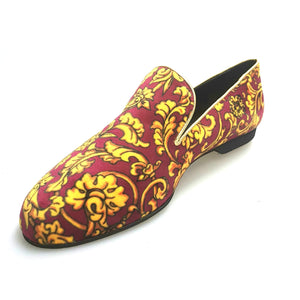 Wish Dance Shop Mocassino Uomo in Tudor Magenta