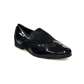 Wish Dance Shop Morgan In Vernice Nera e Camoscio Nero