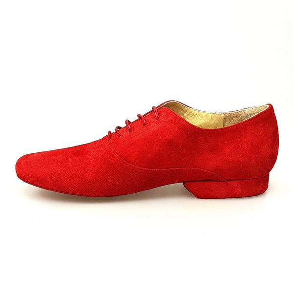 Wish Dance Shop MS07 Stringata in Camoscio Rosso