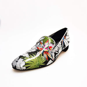 Wish Dance Shop Ms20 Mocassino Fleur Silver