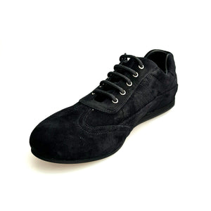 Wish Dance Shop Sport Sneaker in Camoscio Nero Bora