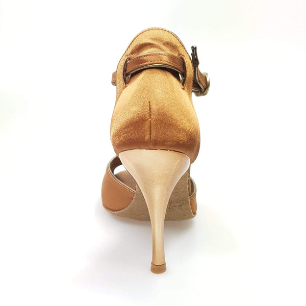 Wishdance Fascino - Scarpa da Donna in Raso Bronzo