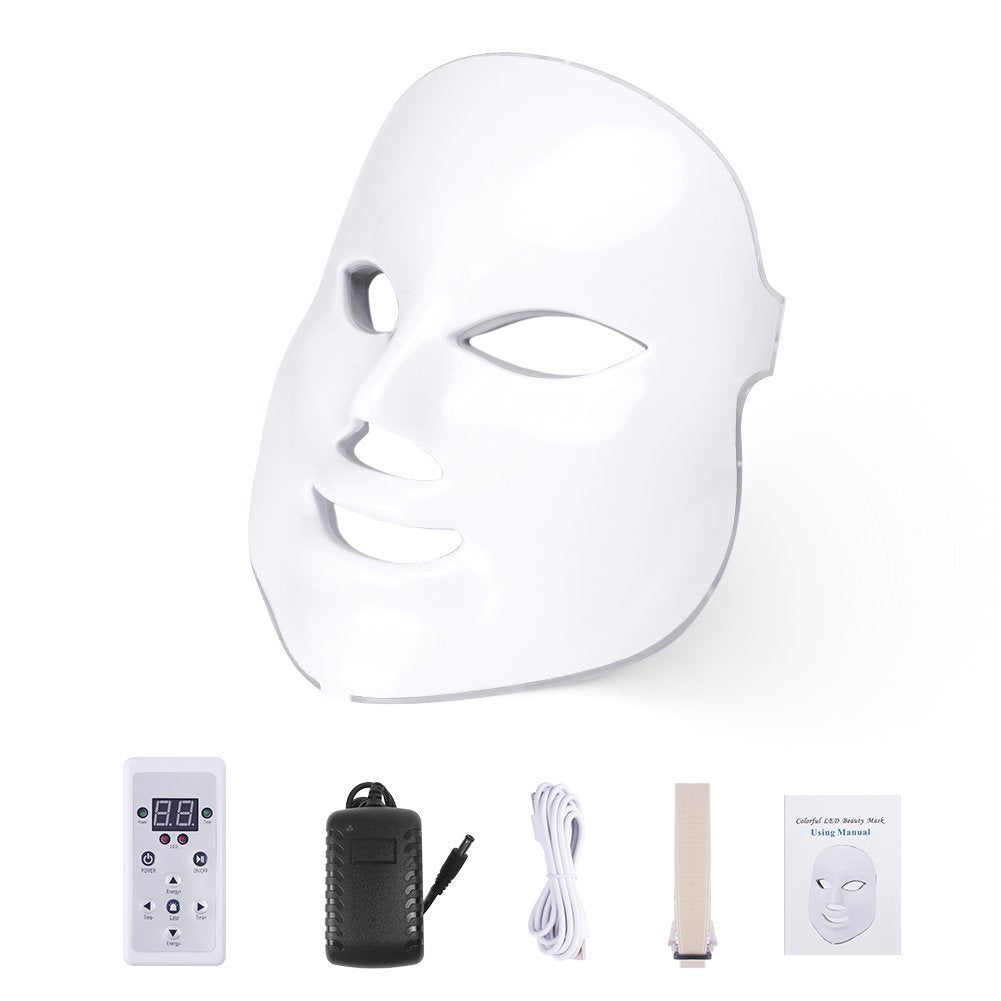 LED Light Therapy Facial Beauty Mask | Littleshore
