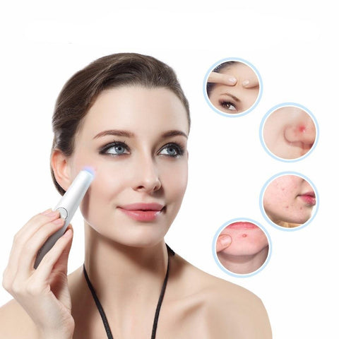 Image of Blue/Red Light Therapy Laser Wrinkle Removal Pen | Littleshore