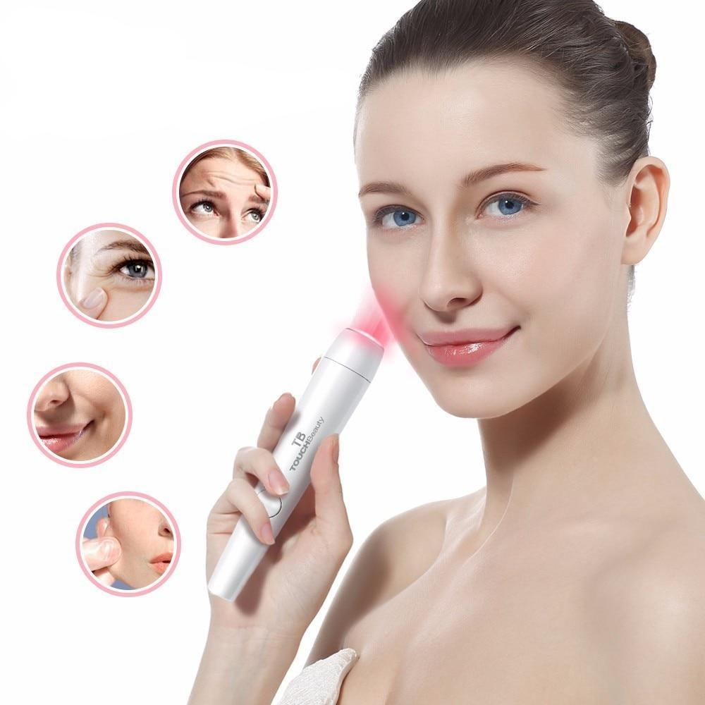 Blue/Red Light Therapy Laser Wrinkle Removal Pen | Littleshore