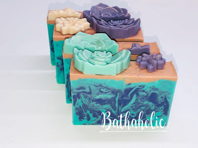 Cactus Flower and Jade Soap