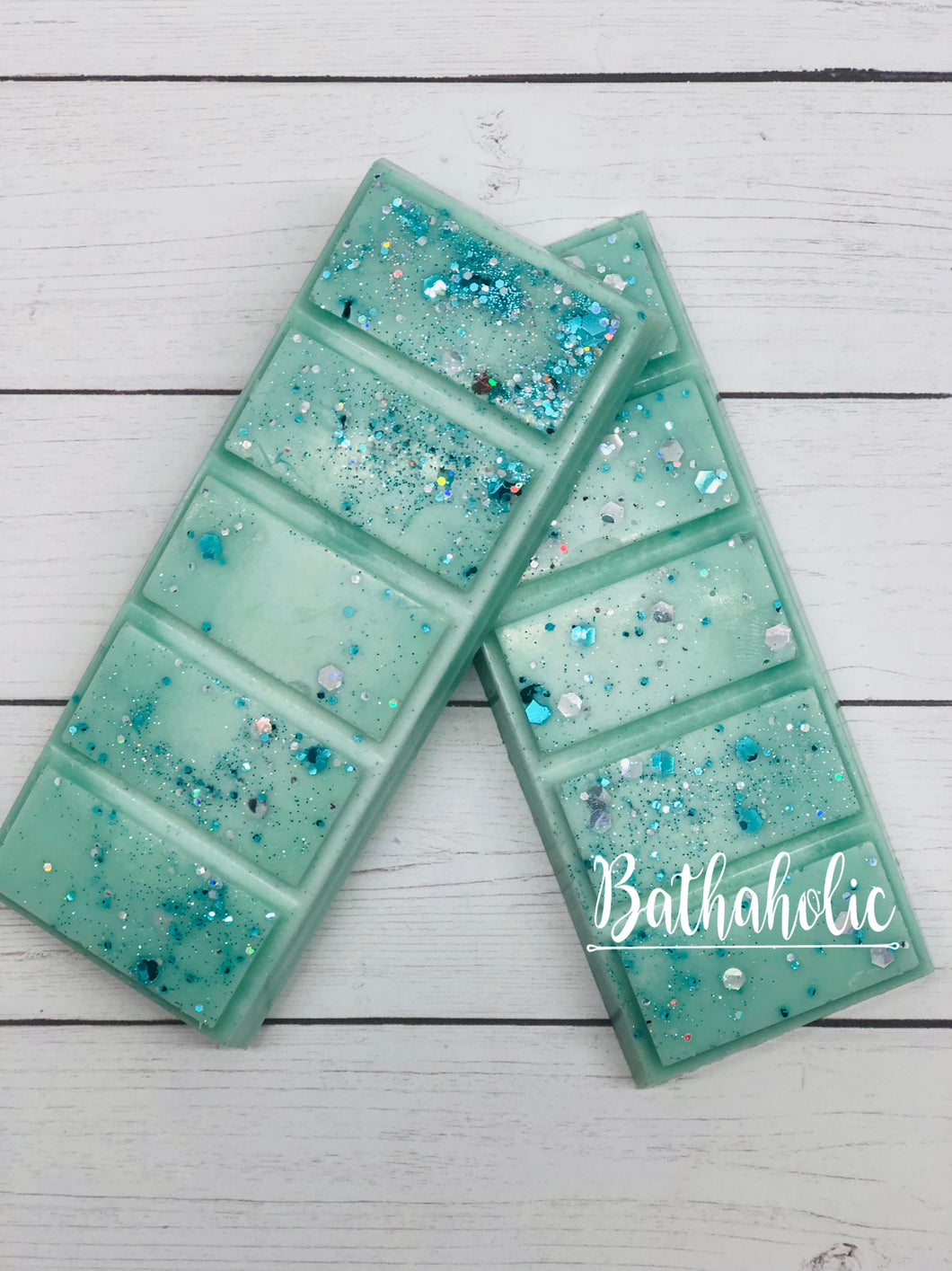 Frosted Eucalyptus Wax Snap Bars