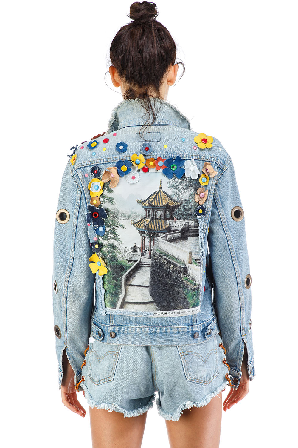 Peekaboo Denim Jacket