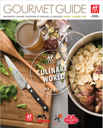 Zwilling Spring 2018 Gourmet Guide - fantastic savings!