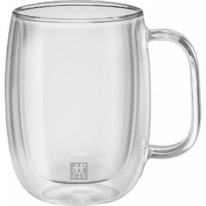 SORRENTO PLUS 2-PIECE 355ML COFFEE GLASS MUG SET - Britannia Kitchen & Home Calgary