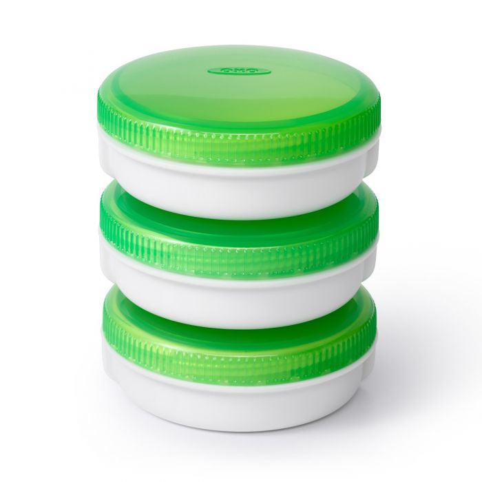 OXO GG On The Go Condiment Jar S/3 - Britannia Kitchen & Home Calgary