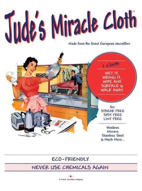 Jude's Miracle Cloth 3 pack - Britannia Kitchen & Home Calgary