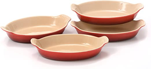 Le Creuset Heritage Gratin Dishes - Set of 4