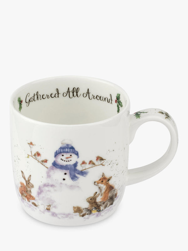 "11oz Mug ""Gathered All Around"" - Wrendale"