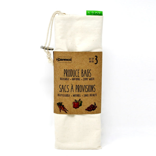 Cotton Produce Bags 3pk