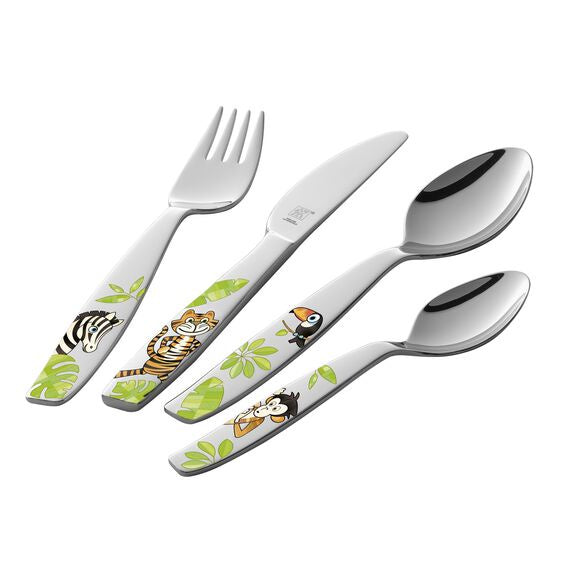"""Jungle"" Kids Cutlery - Britannia Kitchen & Home Calgary"